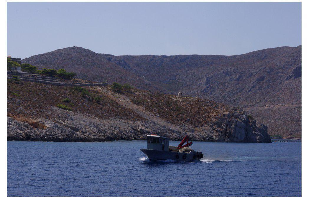 île de Kos - Croisière en kaiki - île de Plati