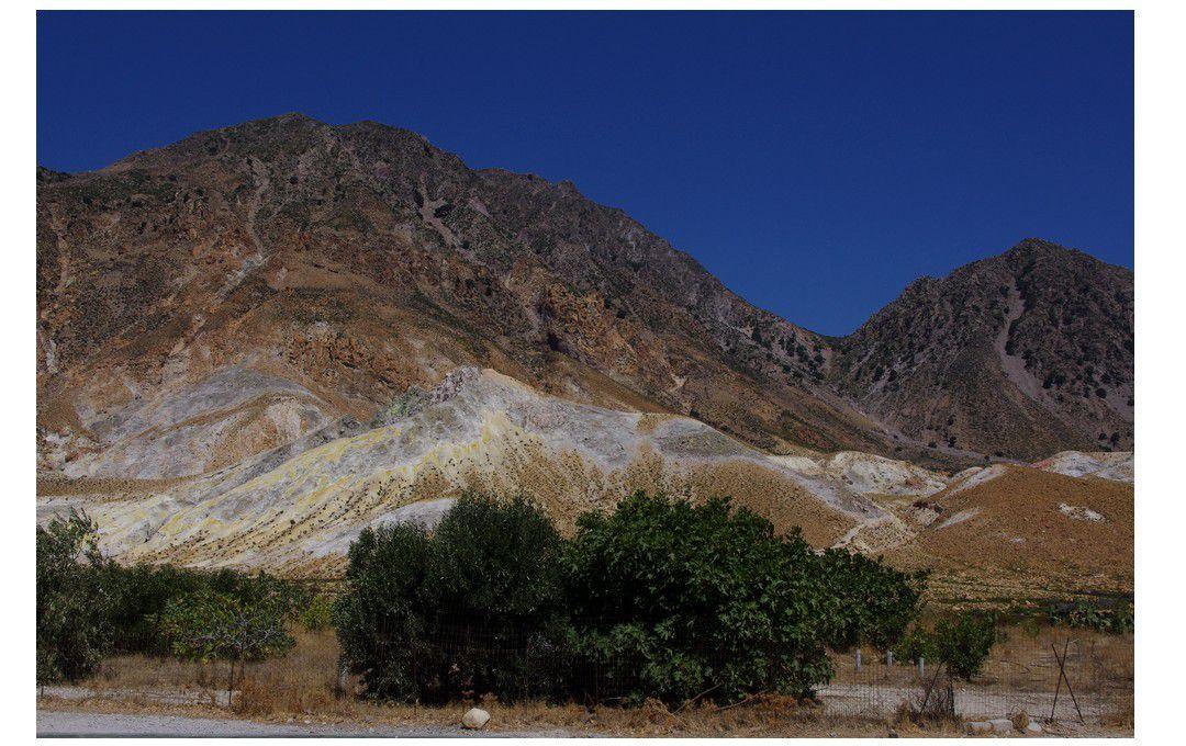 île de Kos - excursion sur le cratère du volcan de l'île de Nisyros