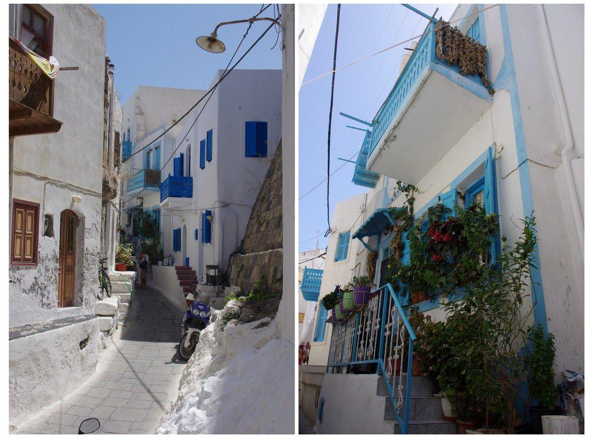 île de Kos - excursion sur l'île de Nisyros avec sa capitale Mandraki