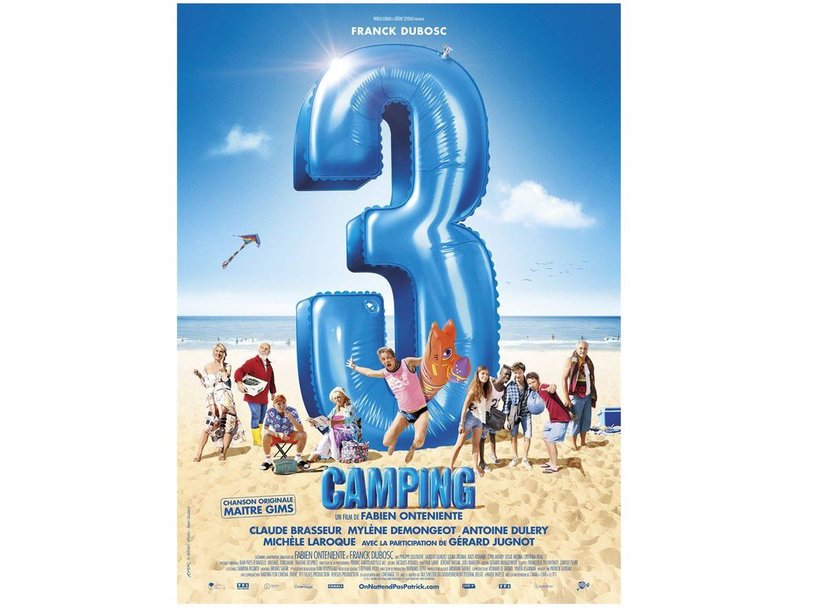 Camping 3 au cinéma