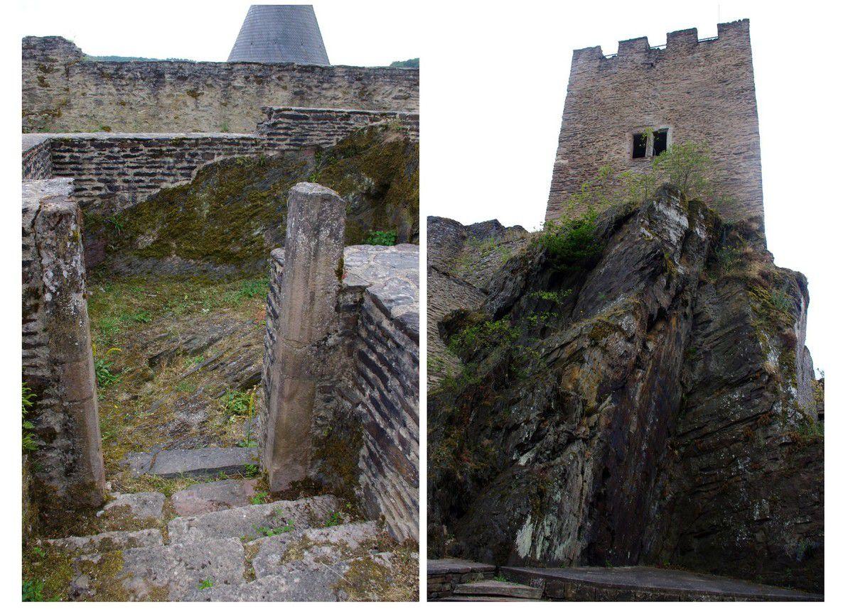 Luxembourg - château de Bourscheid