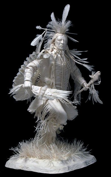 Sculptures avec du papier
