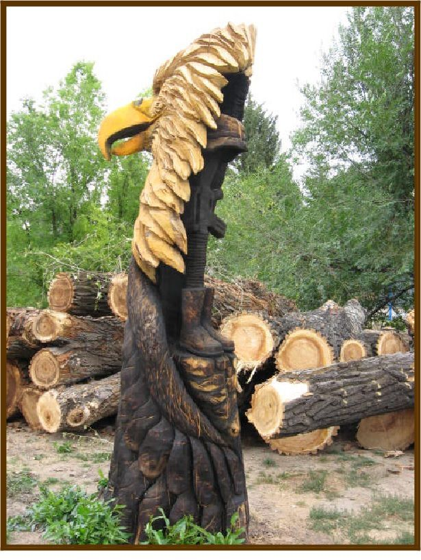 Sculptures d'arbres