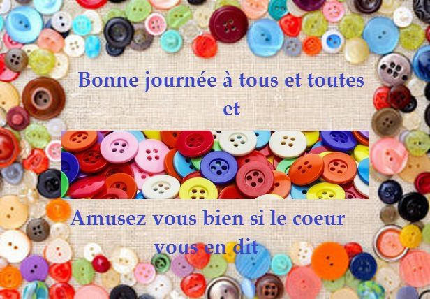 Recyclage boutons
