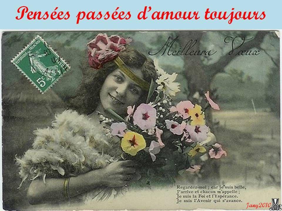 Quelques jolies cartes de voeux datant de 1917