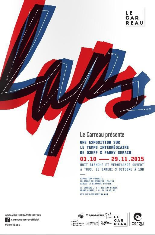 Exposition LAPS / Carreau de Cergy