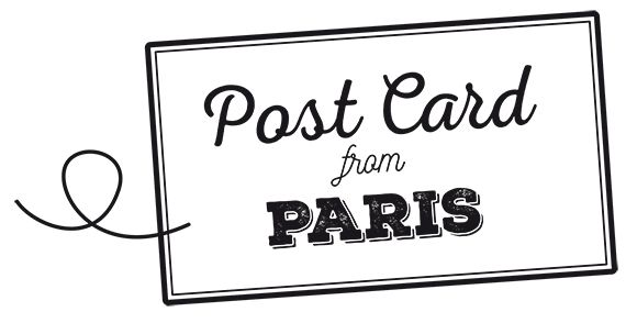 Exposition Post Card from Paris