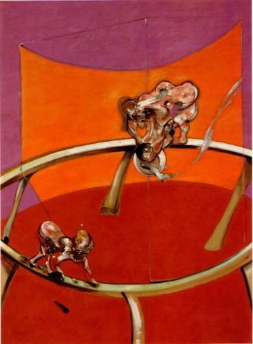 Francis Bacon, Le corps en mouvement, 1965