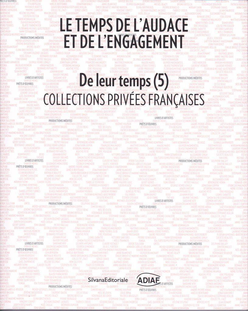 Dernières publications... : L'oeil, avril 2016 / art absolument, mars-avril  / Revue aller-retour, février / Catalogue de l'exposition &quot&#x3B;De leur temps (5)&quot&#x3B;, Villeurbanne, IAC...