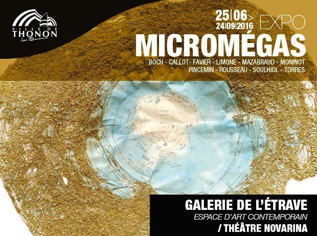 Thonon-les-Bains (74), Galerie de l'Etrave, conférence sur le thème : &quot&#x3B;Micromégas, entre mesure et démesure&quot&#x3B;, à 19 h...