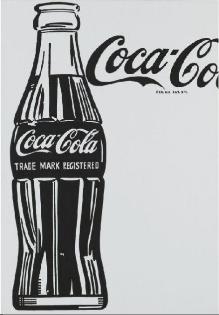 Andy Warhol, Big Coca-Cola , 1962