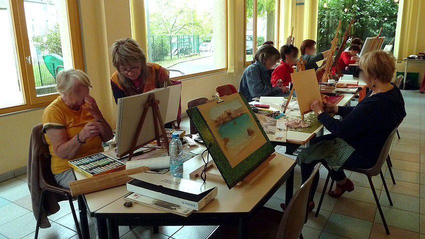 STAGES PASTEL A L'ATELIER AAAA
