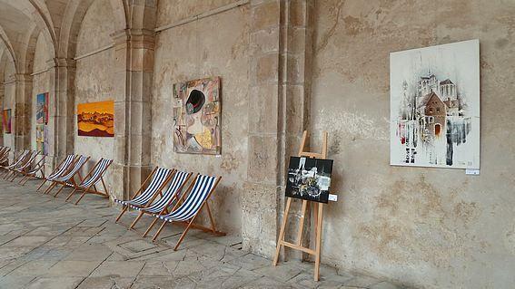 Exposition à l'Abbaye St Germain à Auxerre