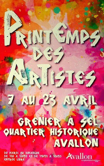 &quot&#x3B;PRINTEMPS DES ARTISTES&quot&#x3B; A AVALLON