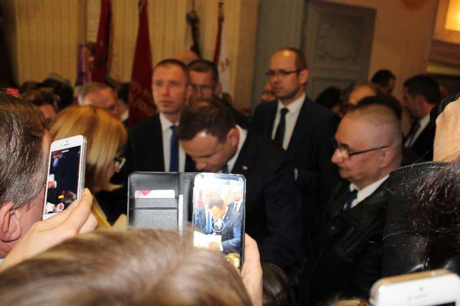 Président Andrzej DUDA à Paris