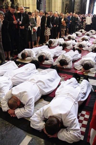 Ordination diaconale à Cracovie- swiecenia diakonatu w Krakowie