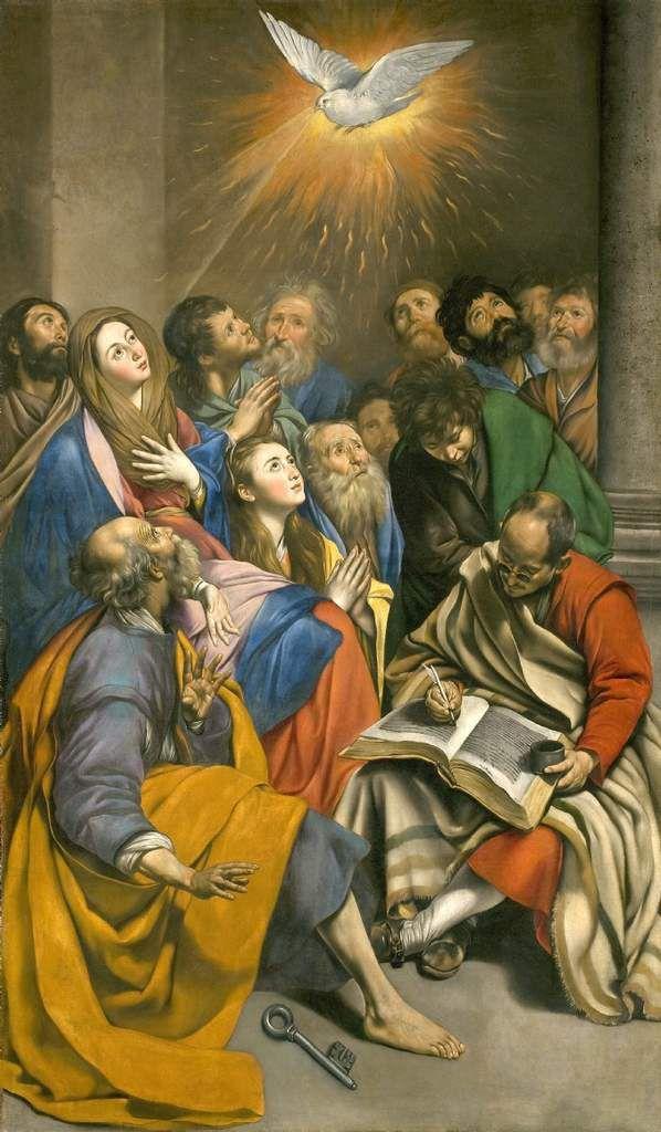 La Pentecôte nous habille de l'Esprit pour la Vie.