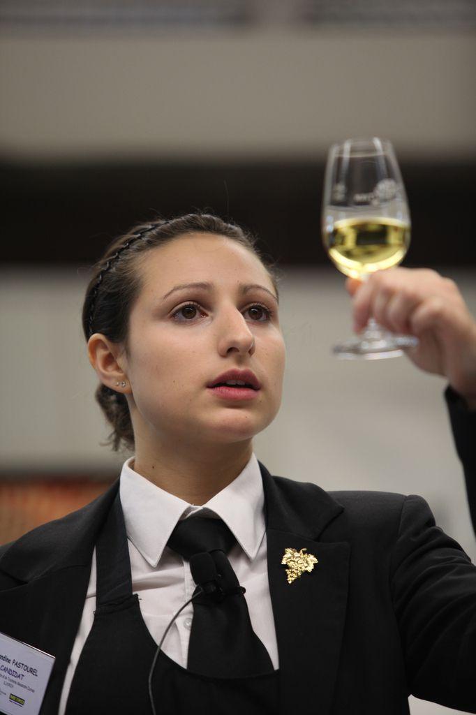 En 2012, Amandine Pastourel avait pris la deuxième place du Trophée Chapoutier. © Jean Bernard