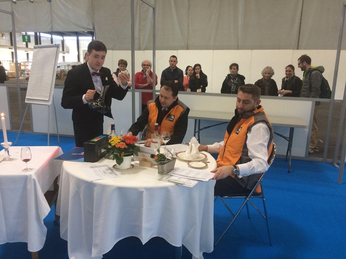 Olympiades des métiers : finale musclée et un beau podium chez les sommeliers