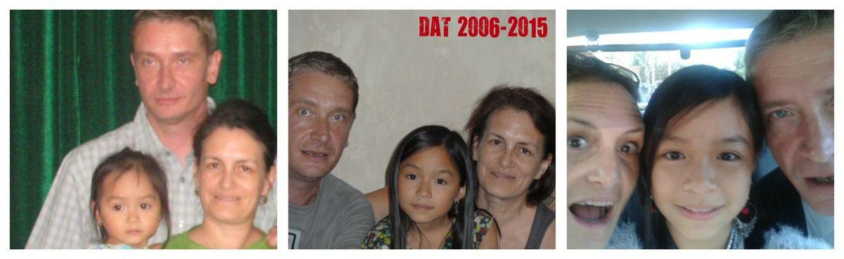 Notre anniversaire familial... 9 ans déjà !