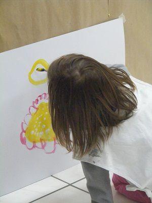 Jeu de peindre chez Vicky