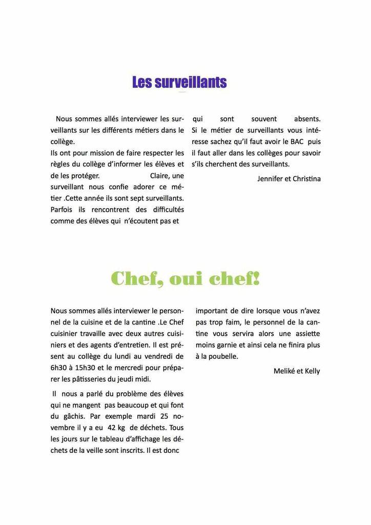 Journal ULIS numéro 1
