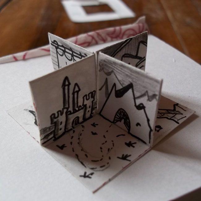 Mini-donjon en 3D