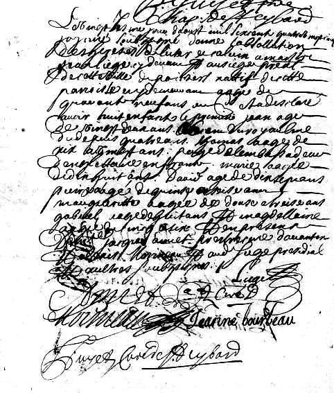 Abjurations enregistrées dans les registres paroissiaux de Poitiers (1681-1688)