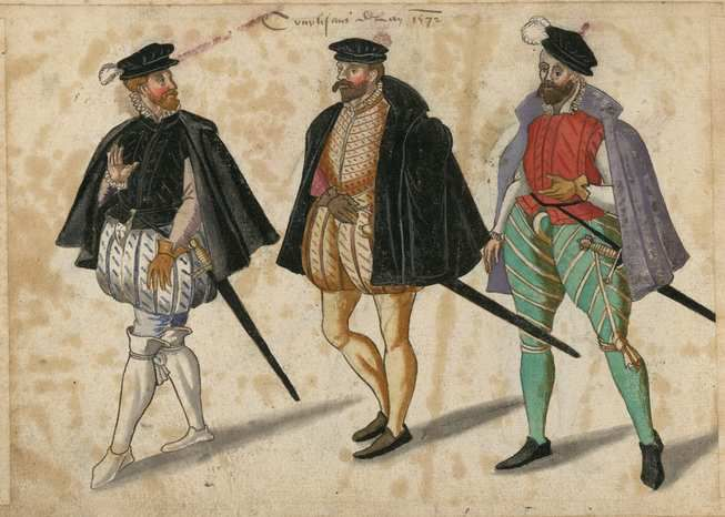 Courtisans en 1572