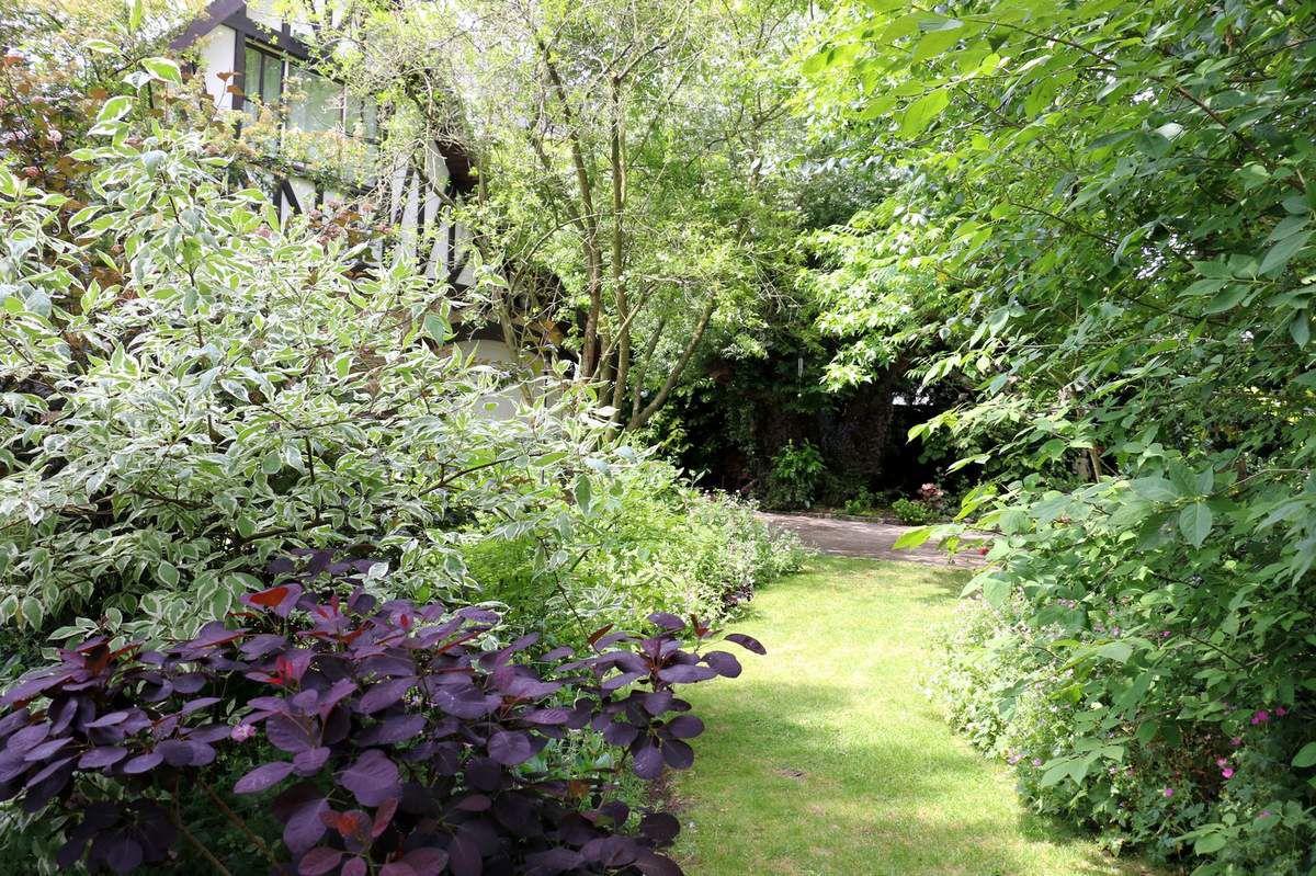 Visite du jardin de Danielle et Paul