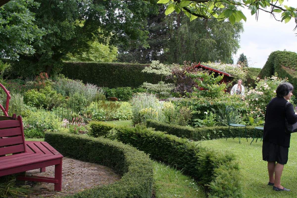 Visite 2016 du jardin de M. et Mme Beulque