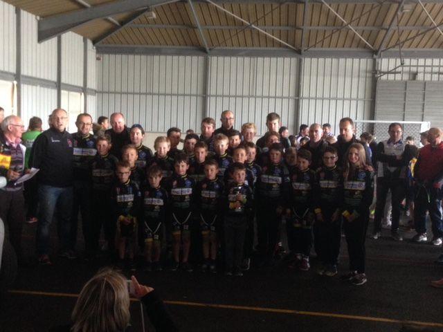 L'école de cyclisme a terminé 5e du Trophée de la Manche !