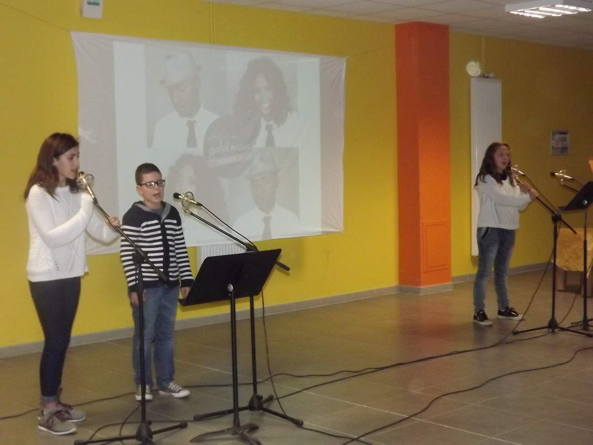 SPECTACLE CHANT DU 26 JANVIER2016