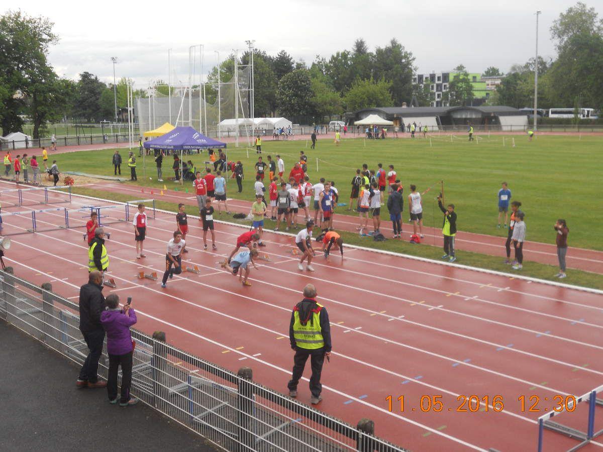 championnat académique d'athlétisme