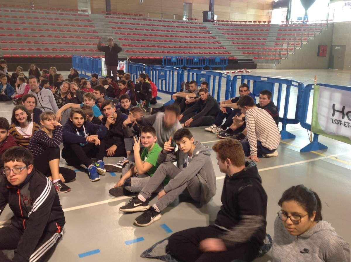 Journée sport partagé et handicap à Boé.