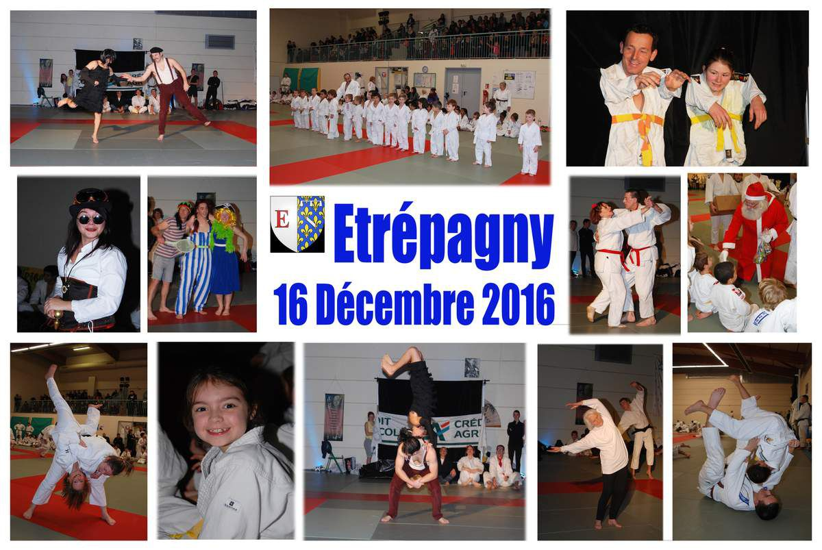 PHOTOS DE NOËL DU JUDO CLUB D'ETREPAGNY 2016