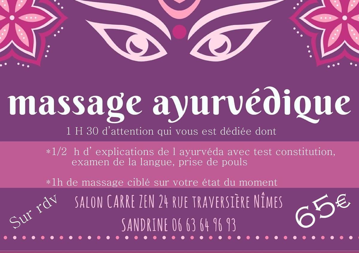 massage ayurvédique sensuel Nîmes