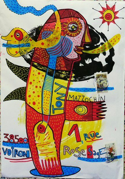 Mail Art d'Eric Meyer