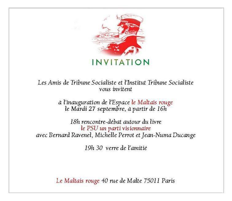 Inauguration du Maltais Rouge
