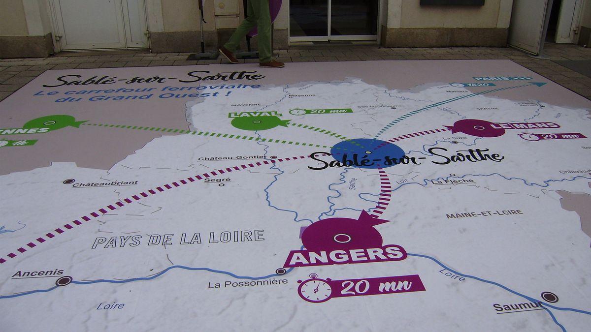 Les horaires de train au départ de Sablé depuis le 2 juillet 2017