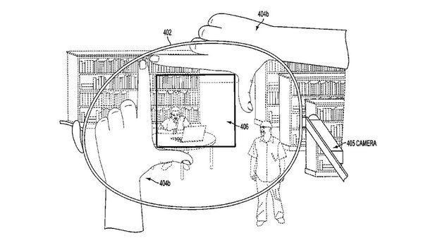 Google a déposé un brevet au sujet d'une technologie permettant de prendre un cliché avec ses propres doigts
