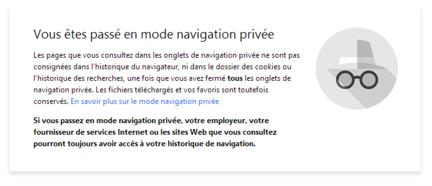 Chrome : Google obtient un brevet pour l'activation automatique du mode de navigation privée