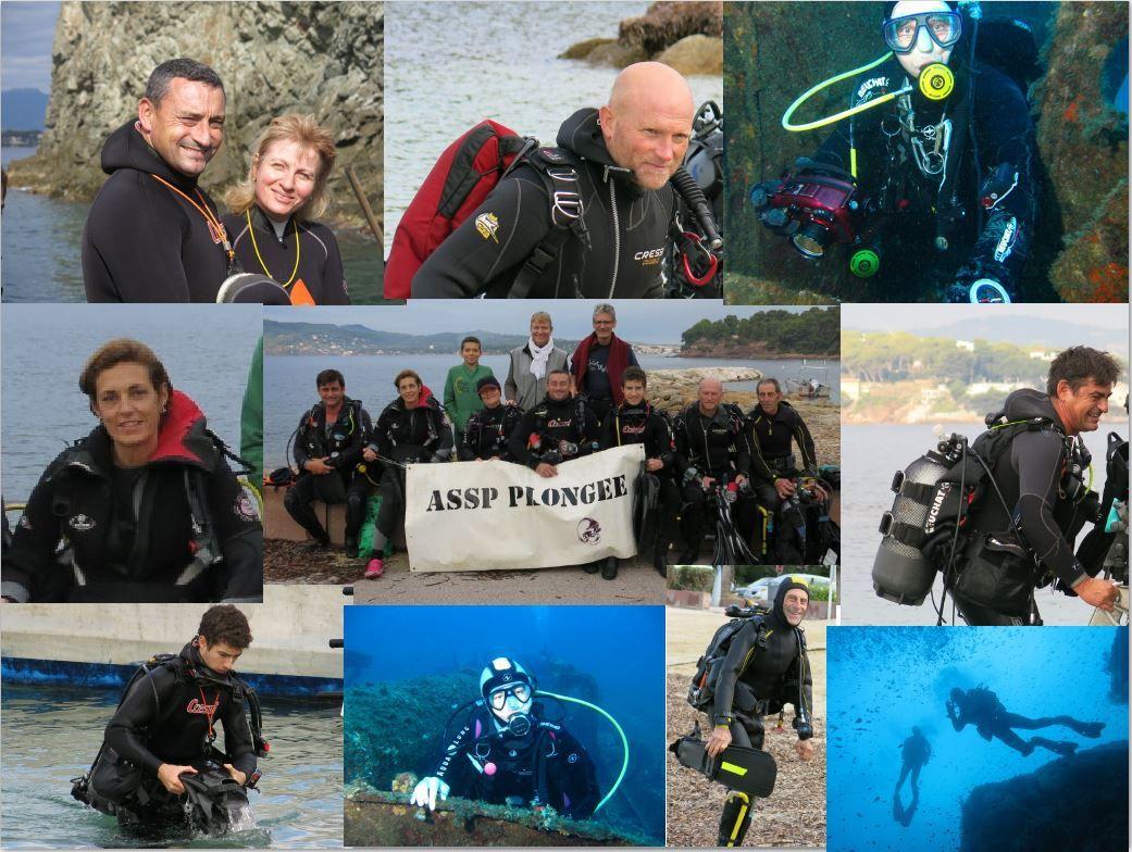 Voilà réunis tous les protagonistes de cette dernière sortie en mer de l'année 2015. D'autres immersions, plus douces, sous plafond ou au pied des massifs alpins viendront terminer ces 365 jours qui s'achèvent. on vous racontera bien entendu.