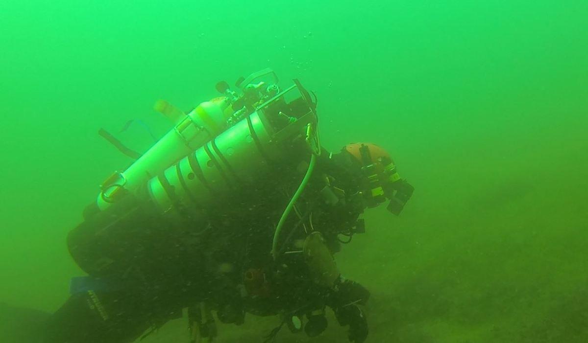 Déco cool dans la zone des 6 m, le Joki est bien visible      ( extrait Gopro)