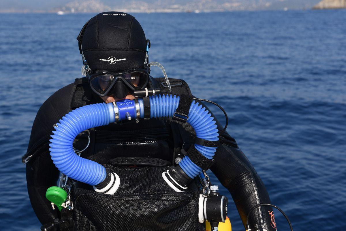Retour de plongée après 1 heure sans bruit ni bulles......