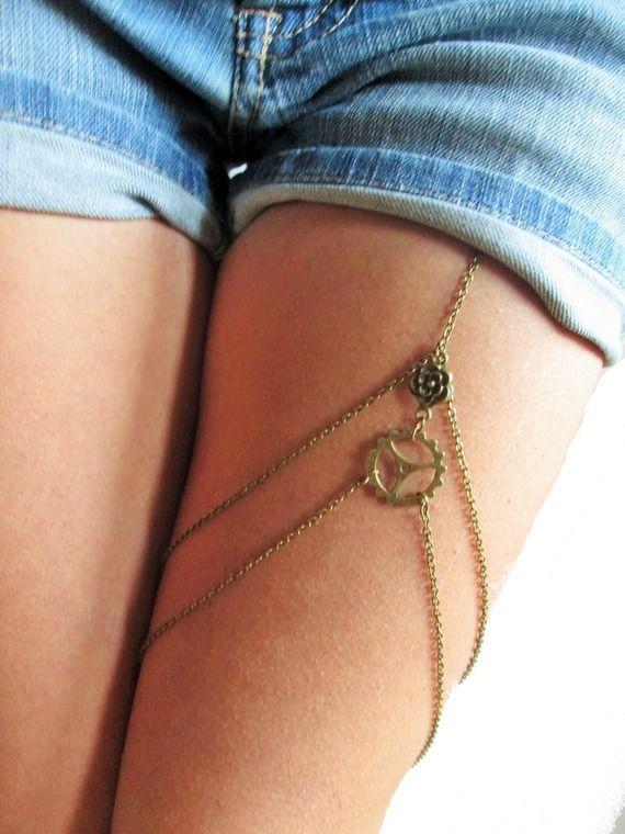 Bijoux de jambes : Nouveau concept, nouvelle tendance !