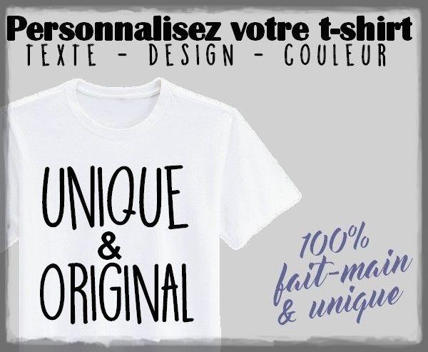 Personnaliser entièrement son t-shirt !!