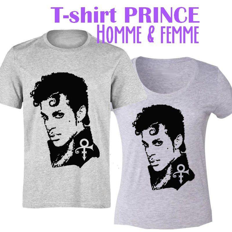T-shirt en hommage à PRINCE