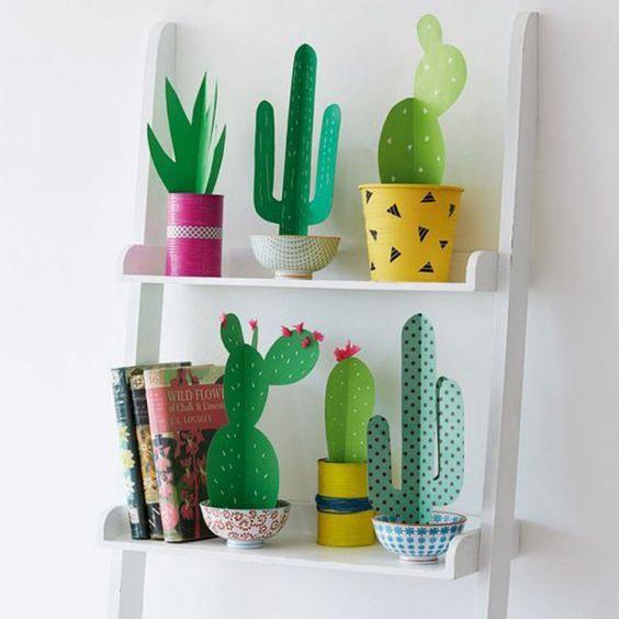 Réalisez une plante en papier pour la fête des mères !