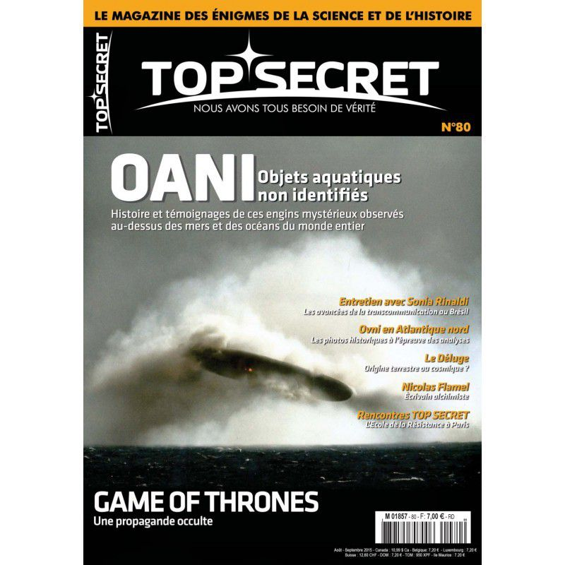 Top Secret, un magazine hors de la matrice !